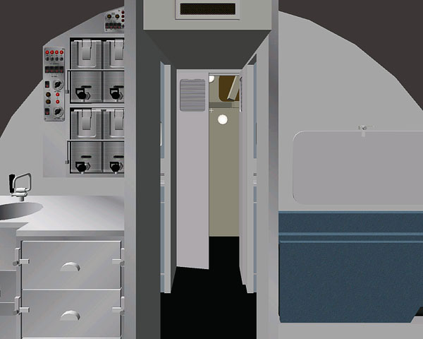 Comet 4 Aft Compartment Dh Aircraft News