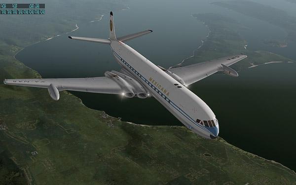 Comet 4c - Prototype Testing - First Flight in X-Plane 10 | DH
